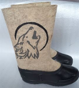 "Picture of Felt boots ""Wolf"", 28 см"