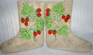 """Picture of Boots """"Strawberries"""", size 28"""