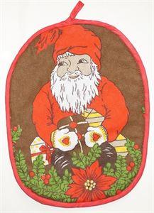 """Малюнок з Прихватка на кухню """"Дід Мороз"""""""
