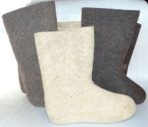 Picture of boots natural, size 21-33
