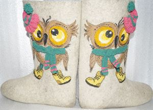 """Picture of Natural boots """"Owl"""""""