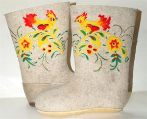 Picture of Boots Khokhloma painting, size 24