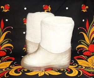 Picture of valenki boots with galoshi, 13 - 19 см