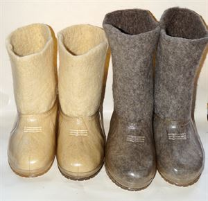 Picture of wool felt lined boots, 24-29 см